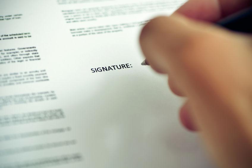 modèle lettre de démission