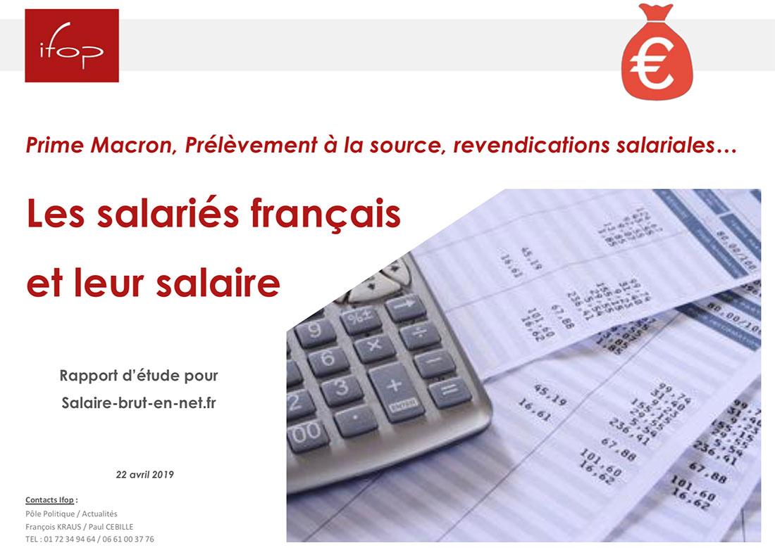 sondage salaire
